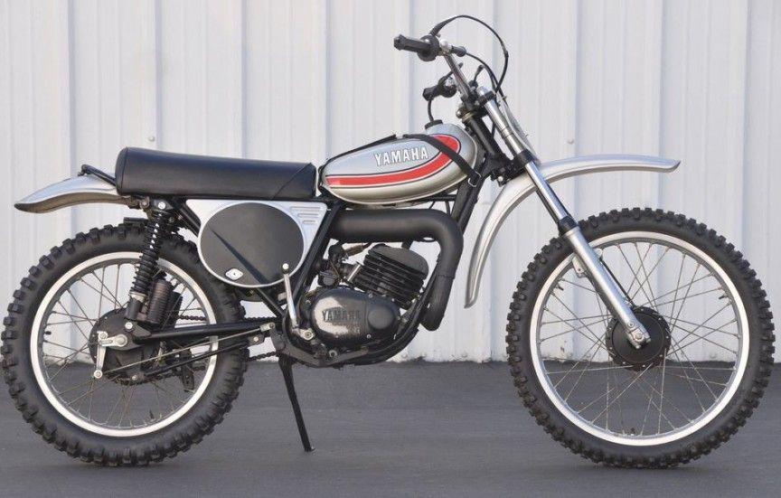 1974 Yamaha Yz125 Vintage Motocross Enduro Motorcycle Yamaha Bikes