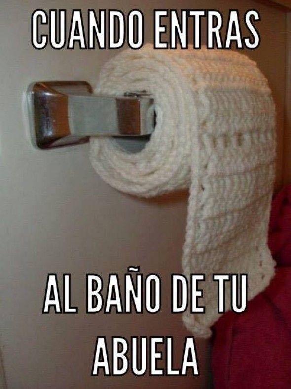 Fotos En El Bano Memes.Cuando Entras Al Bano De Tu Abuela Memes Divertidos Memes