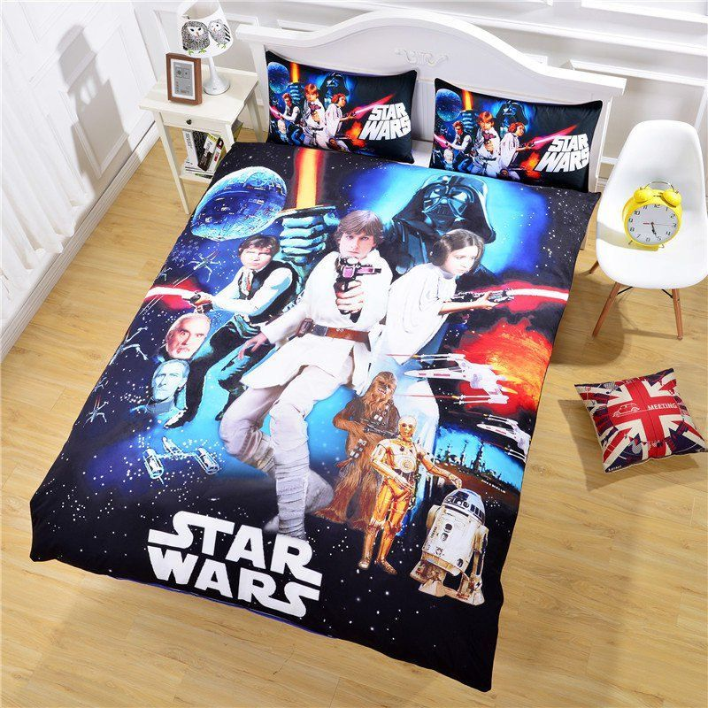 Star Wars Bedding Full Size Star Wars Classic Bedding Design