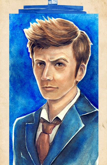 David Tennant | 10th Doctor | Doctor Who offbeatandwhimsical.com