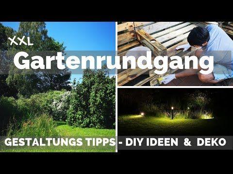 Garten Deko Diy Gartengestaltung Tipps Ideen Gartenbeleuchtung Gartenmobel Garten Gestalten Youtube Garten Deko Garten Gestalten Garten