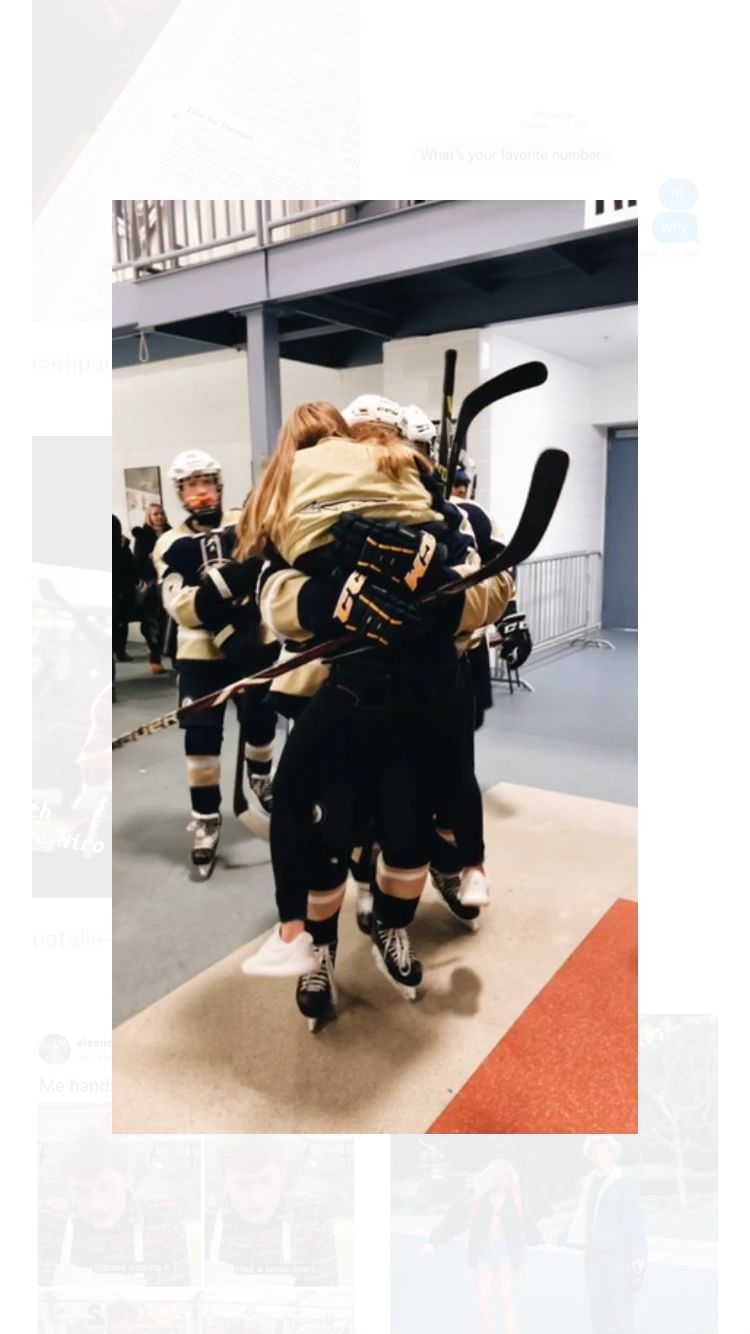Stargirlalia For More Like This Video Hockey Girlfriend Couple Goals Relationships Relationship