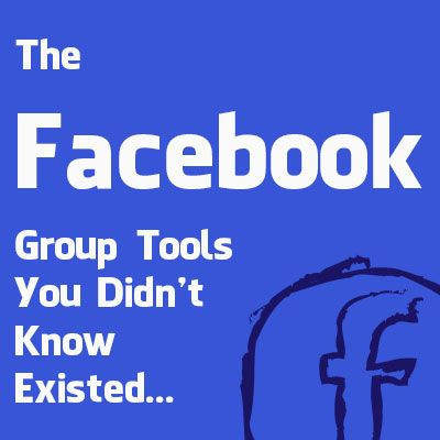 Facebook Group Tools | Facebook | Socially Sorted