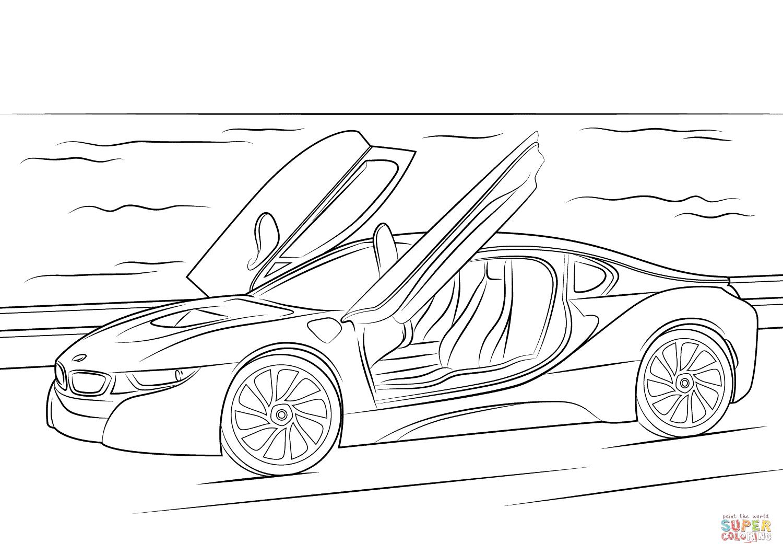 How To Draw A Bmw M4 Bmw M4 Bmw Sketch Car Drawings