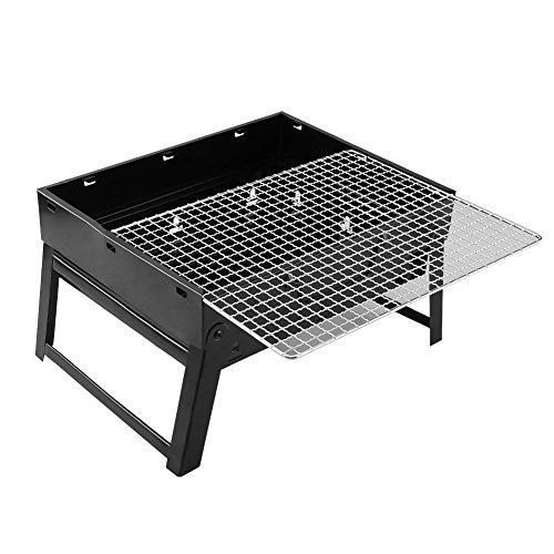 Folding Camp Grill BBQ Mini Portable Travel Outdoor Garden Barbecue Cooking