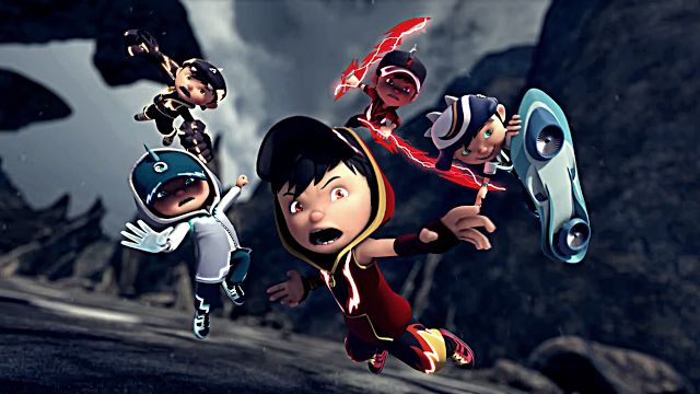 Wallpaper Boboiboy Kuasa Lima Boboiboy The Movie Coretancyber