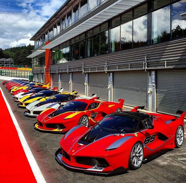 Ferrari Laferrari FXXK Line Up Ftw