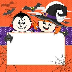 Halloween Invitation Background Birthday Invitations