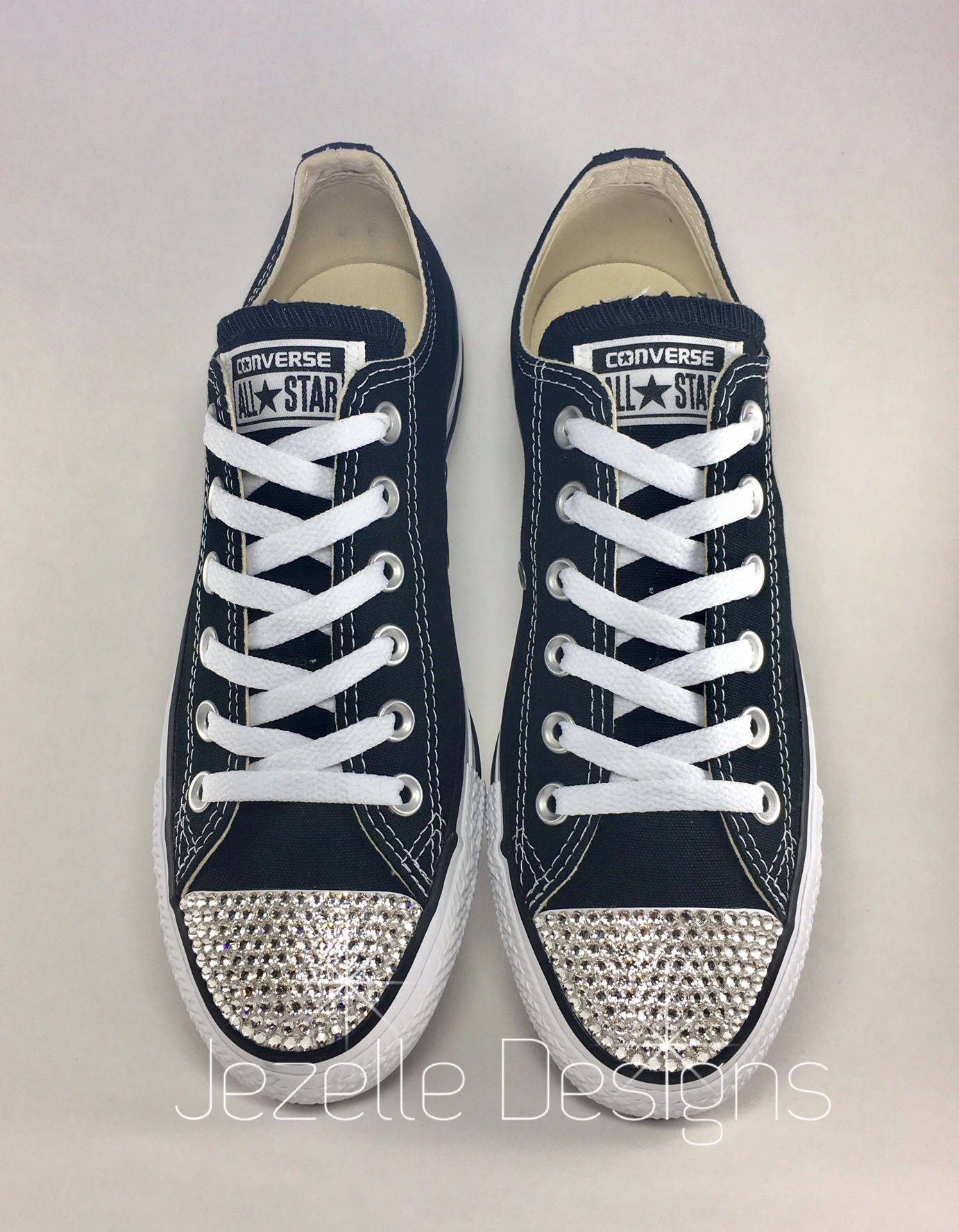 d8f32901198 A CLASSIC CRYSTALLIZED! Style  Converse Chuck Taylor All Star Low ...