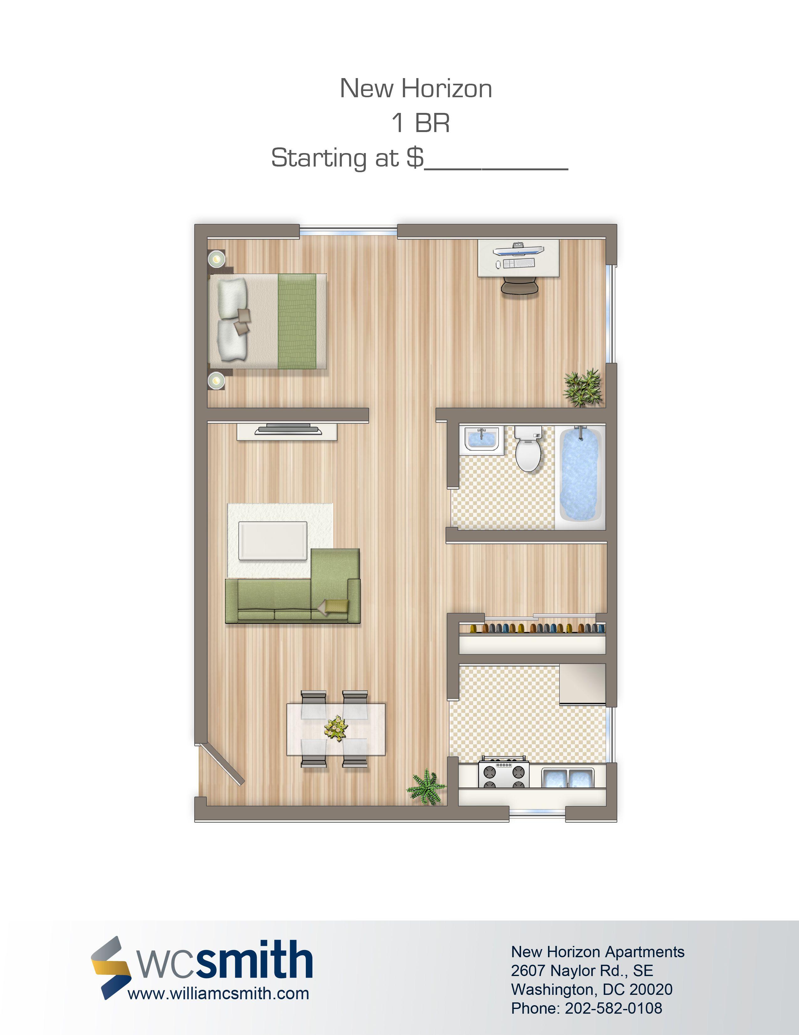 e Bedroom Floor Plan