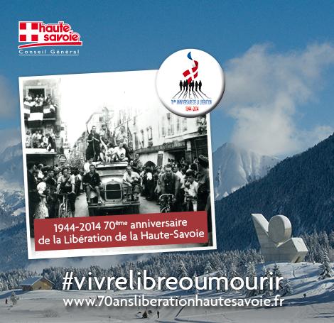 Le 70ème anniversaire de la Libération de la Haute-Savoie en 1944