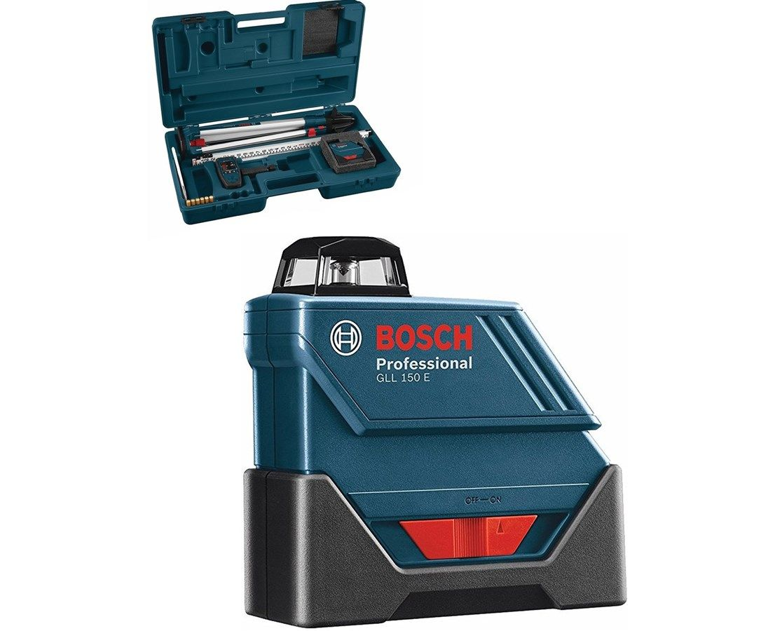 360 Degree Exterior Horizontal Laser Range Up To 530 Feet Range With Laser Receiver Self Leveling Within 4 Degrees Accuracy Of Leveling 360 Degree Bosch