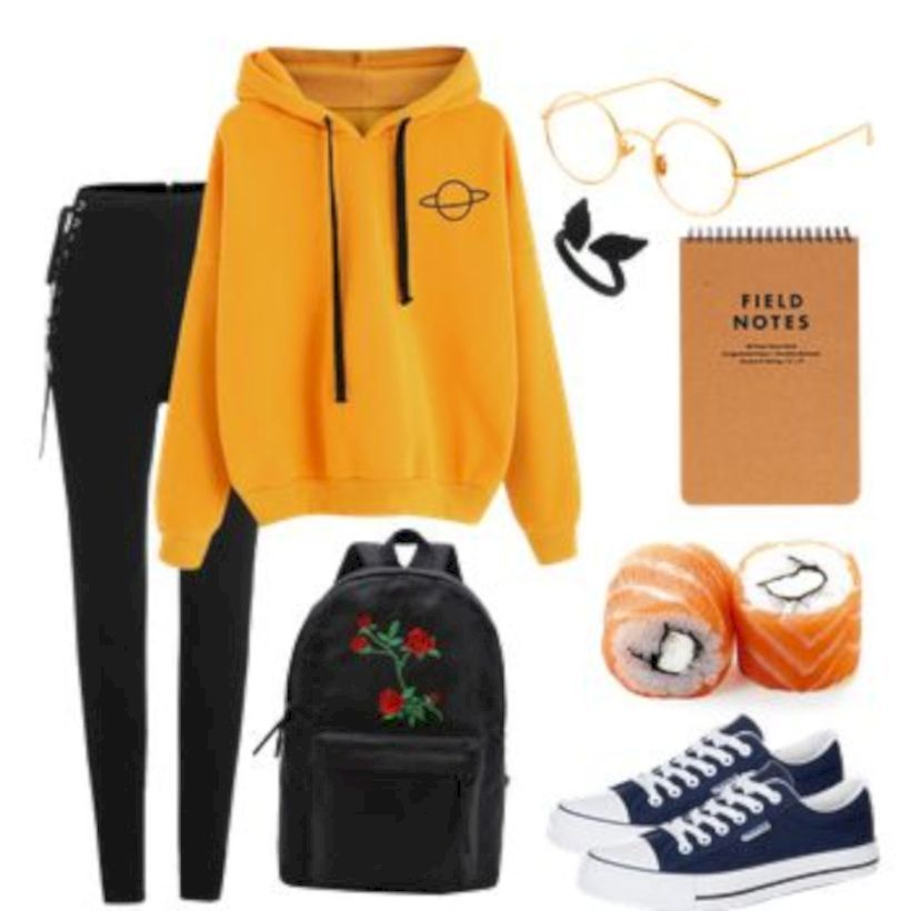 35 Cool Outfits That Will Make You Look Cool #outfits4school