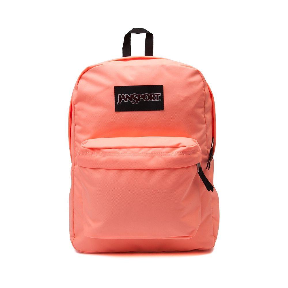 Jansport Neon Orange Backpack | Crazy Backpacks