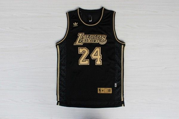 8f862205a ... nba los angeles lakers 24 kobe bryant swingman throwback black jersey