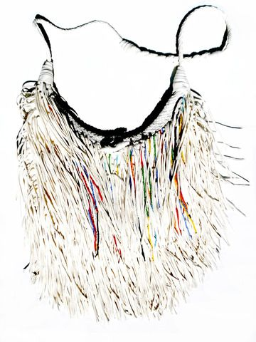 Fleco Fringe Bag With Beads from IMPERIO jp