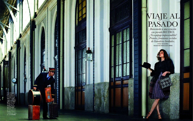 Coco Rocha by Xavi Gordo // Elle Spain September 2012