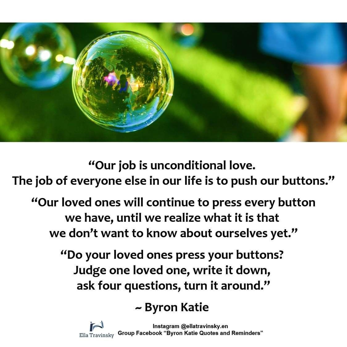Pin By Fearlessfaith On The Work Of Byron Katie