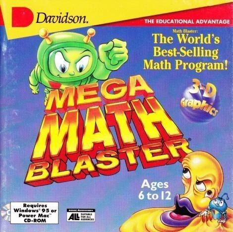 You played Math Blaster. | Community Post: 10 Educational Computer Games '90s Kids Will Remember