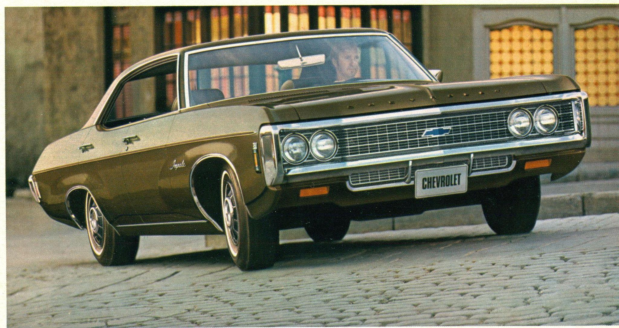 1969 Chevrolet Impala 4 Door Hardtop Chevrolet Impala 1969 Chevy Impala Chevrolet