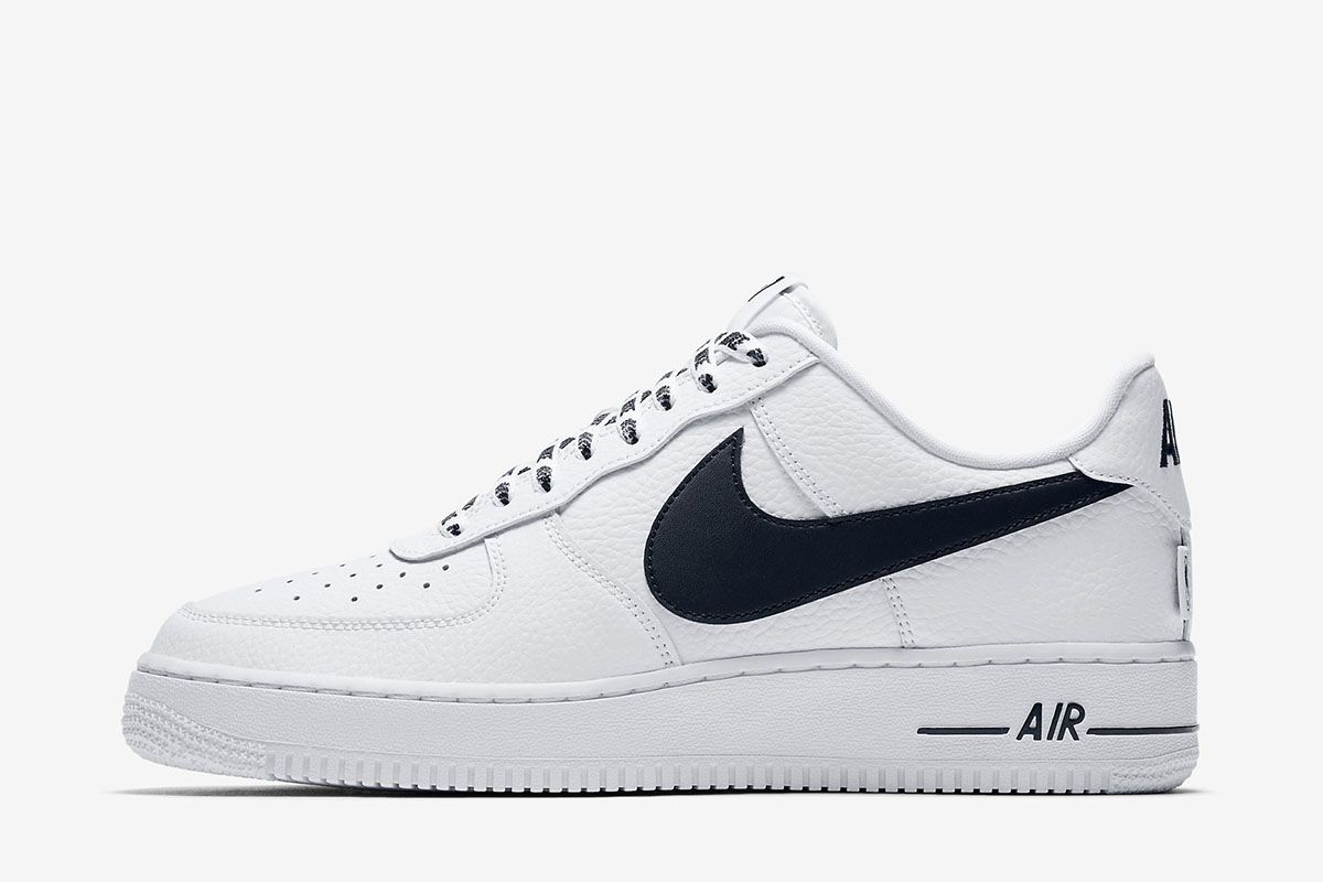 "premium selection 4b0b5 6952f Nike Air Force 1  07 LV8 ""NBA"" (White Black) - EU Kicks  Sneaker Magazine"