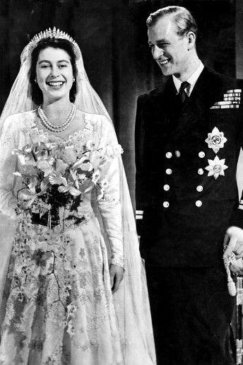 The Wedding Of Queen Elizabeth Ii To Prince Philip Royal Brides Princess Elizabeth Royal Weddings