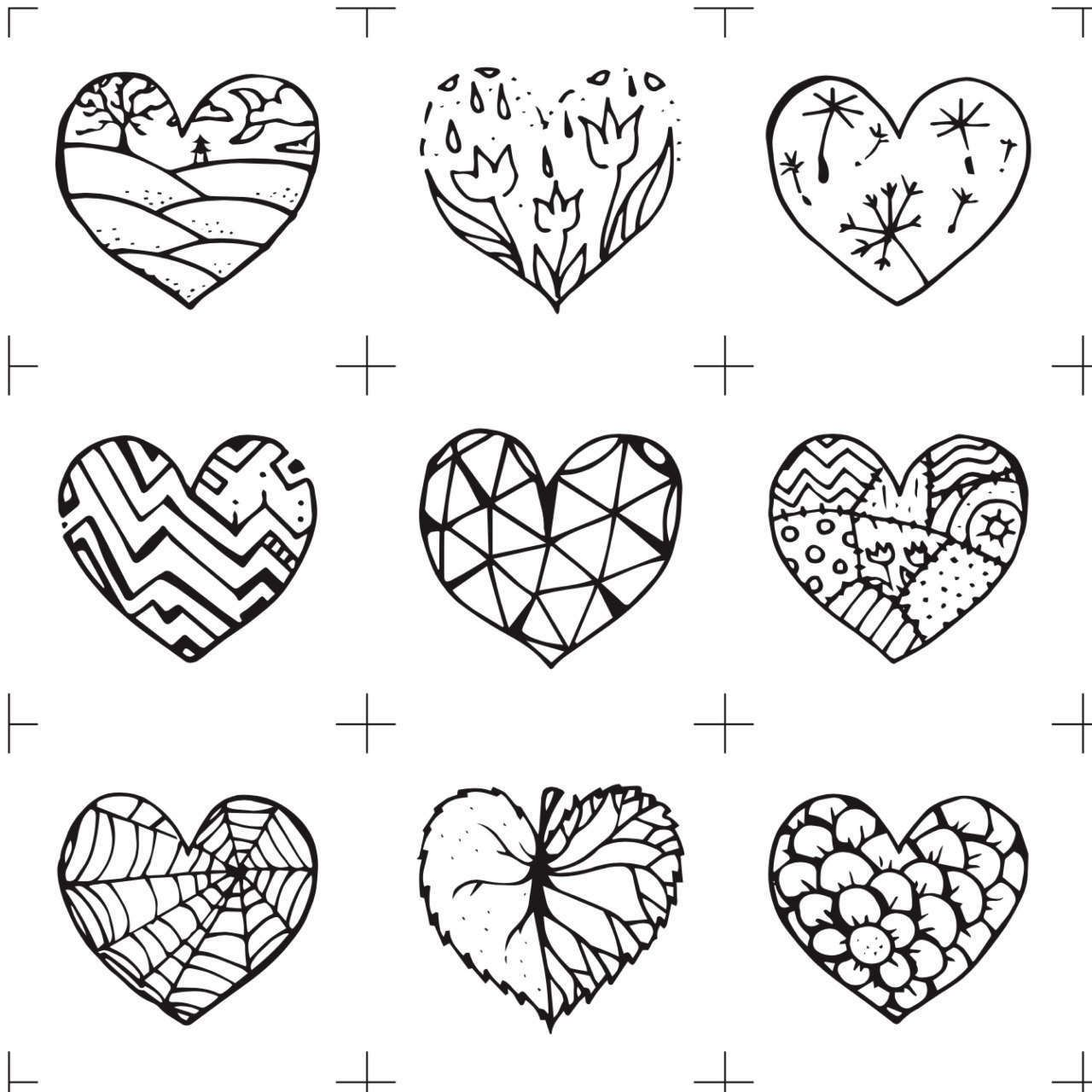 Color Me Hearts Memory Game Valentine Printable Diy Lover T Fancy Present Party Ideas Last
