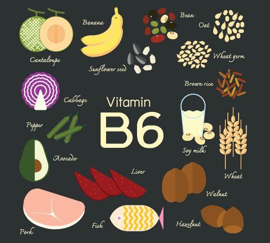 food rich in vitamin b komplex