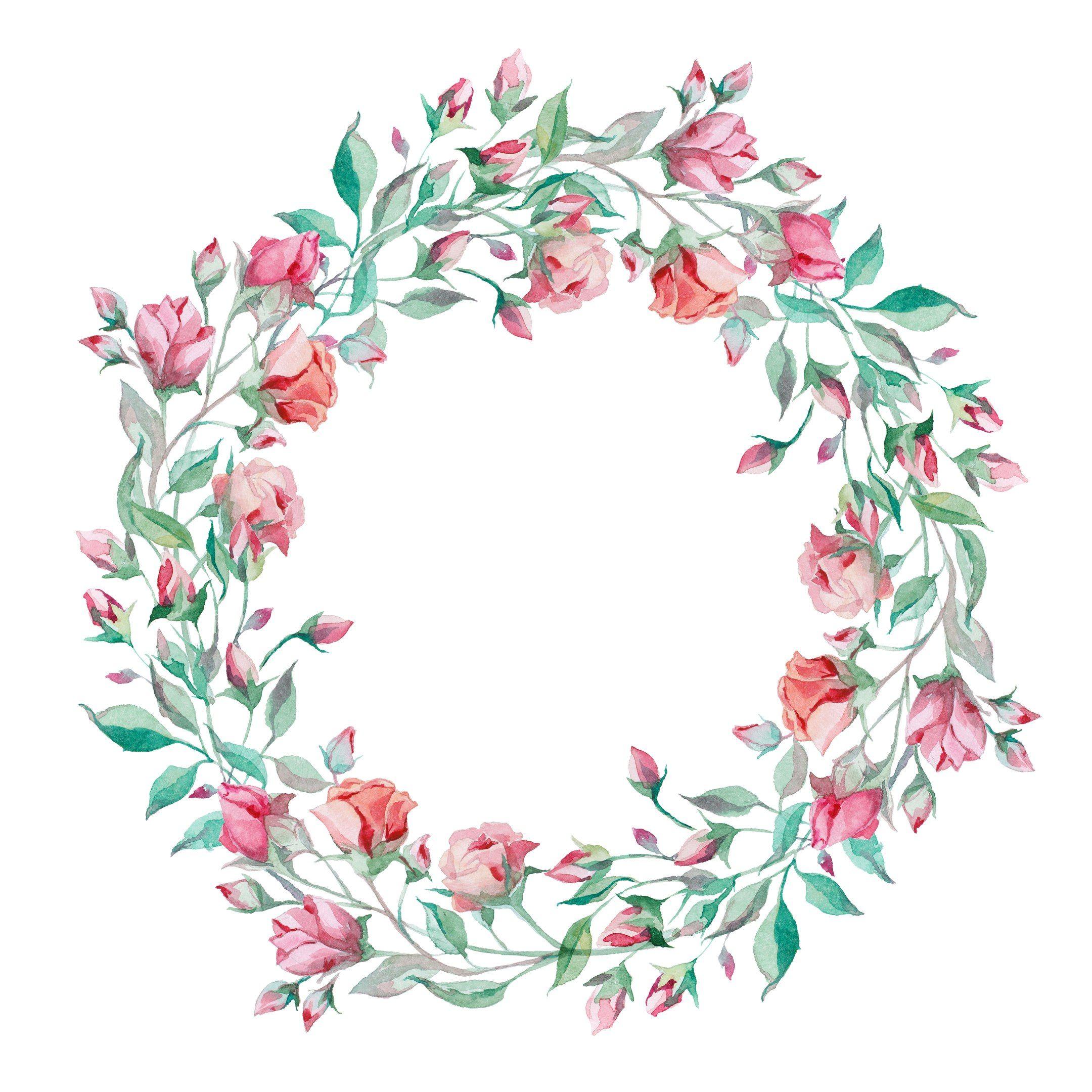 Resultado de imagen para flores en acuarelas marco o - Marcos para laminas ...