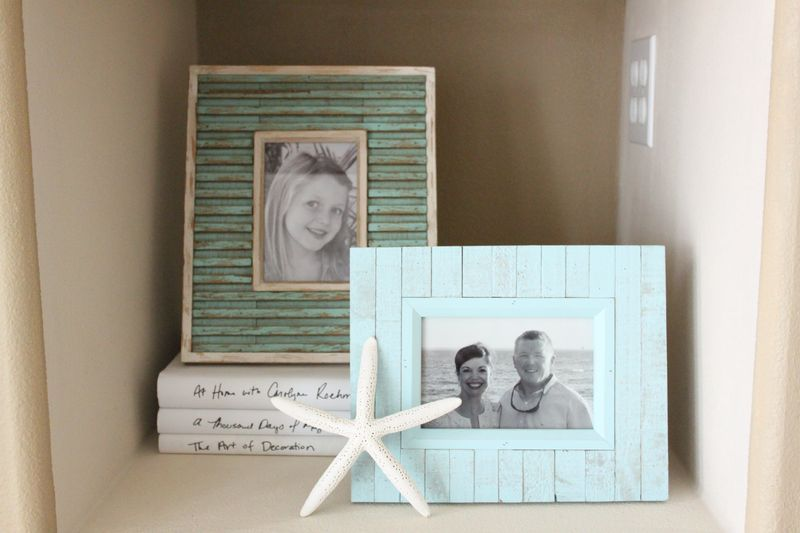 Maybe repurpose an old frame by etching faux board lines to make it ...