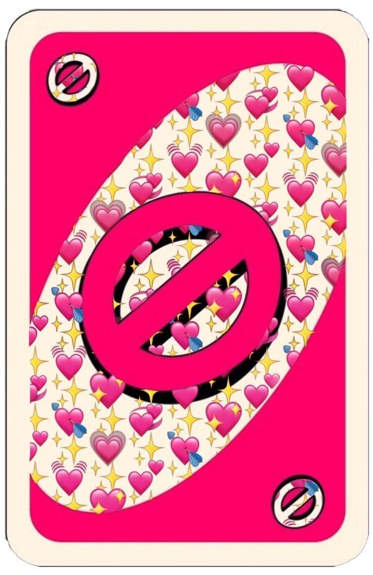 Cute Uno Block Card Uno Cards Cute Love Memes Love Stickers