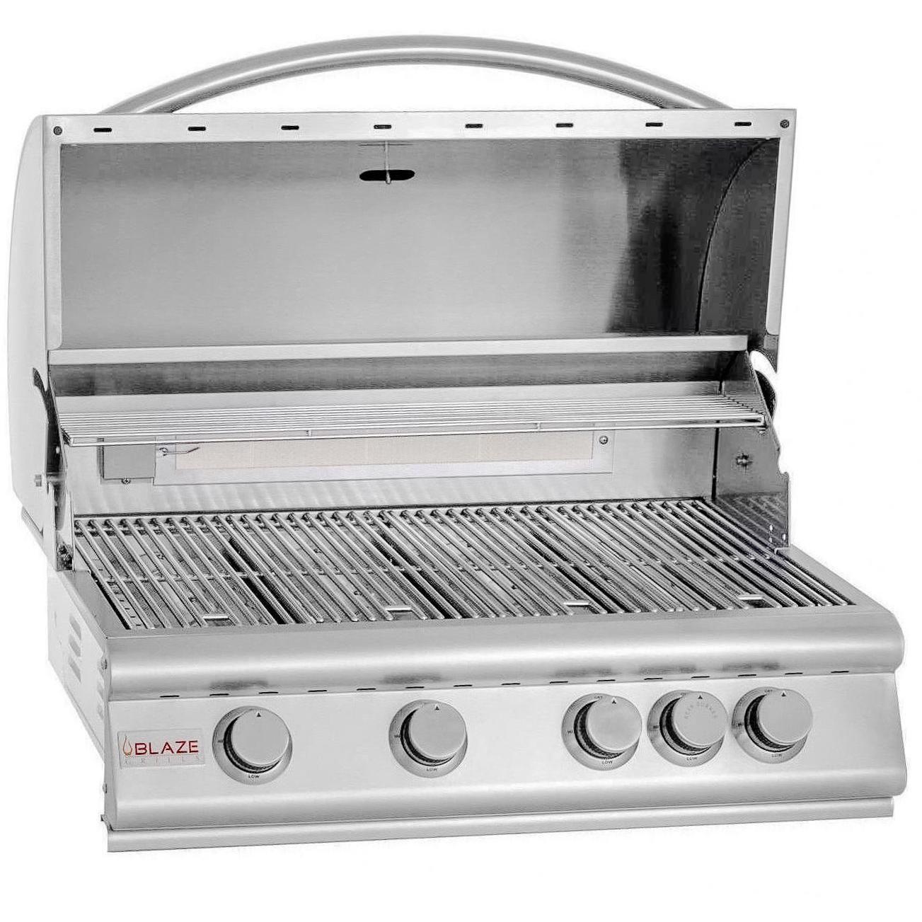 Blaze 7 Piece 32 Inch Propane Outdoor Kitchen Package Outdoor Kitchen Bars Outdoor Kitchen Natural Gas Grill