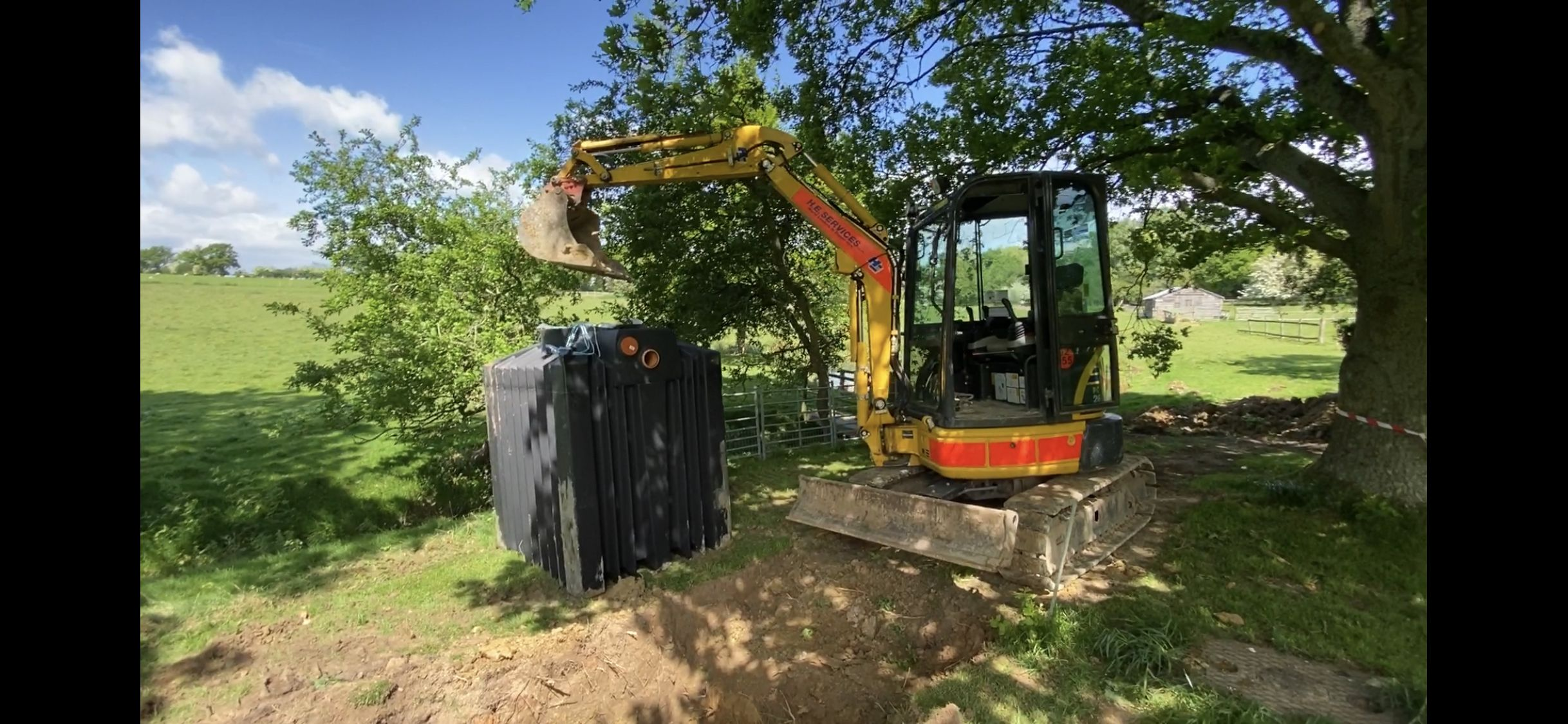 I am about to install the amazing Ecosystem septic tank