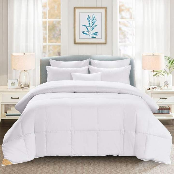 Midweight All Season Down Comforter | Joss & Main #downcomforter