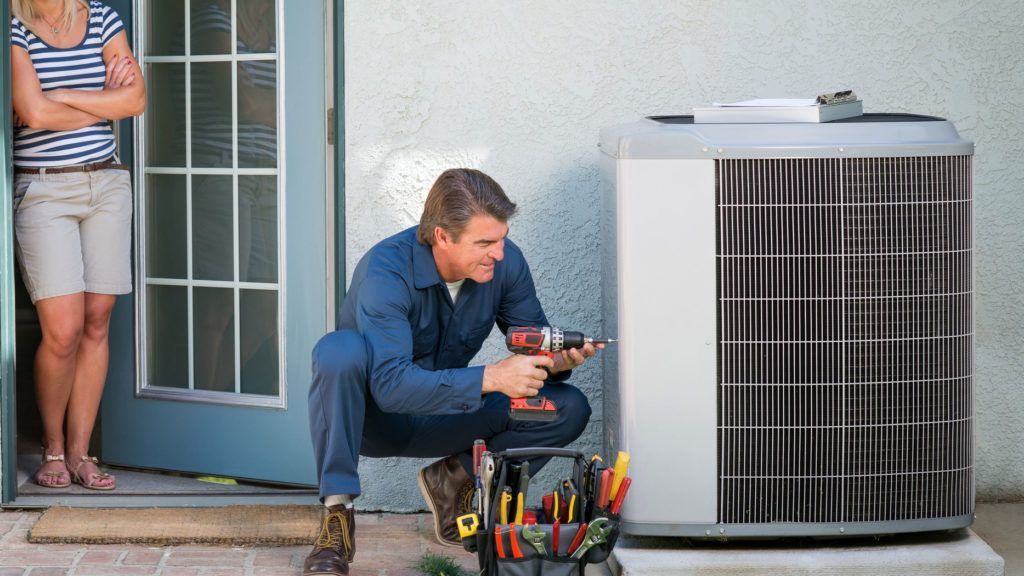 An HVAC contractor does more than plug in a box that