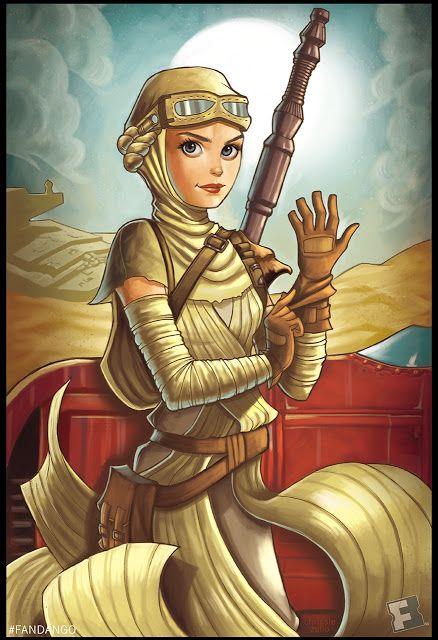 'Women Of Star Wars' by Chrissie Zullo