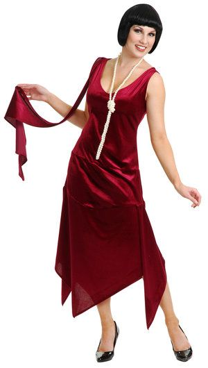 0fd1396a05 Sandy Speak Easy Flapper Adult Costume