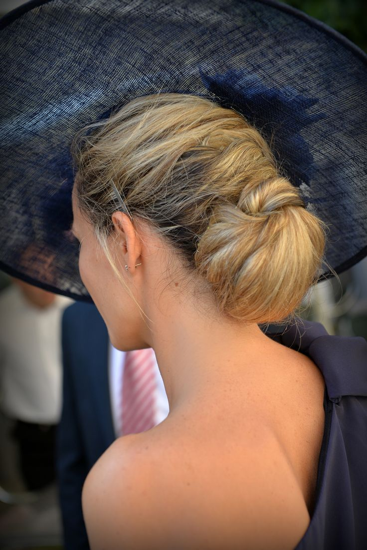 image result for wedding guest hairstyles wide brimmed hat