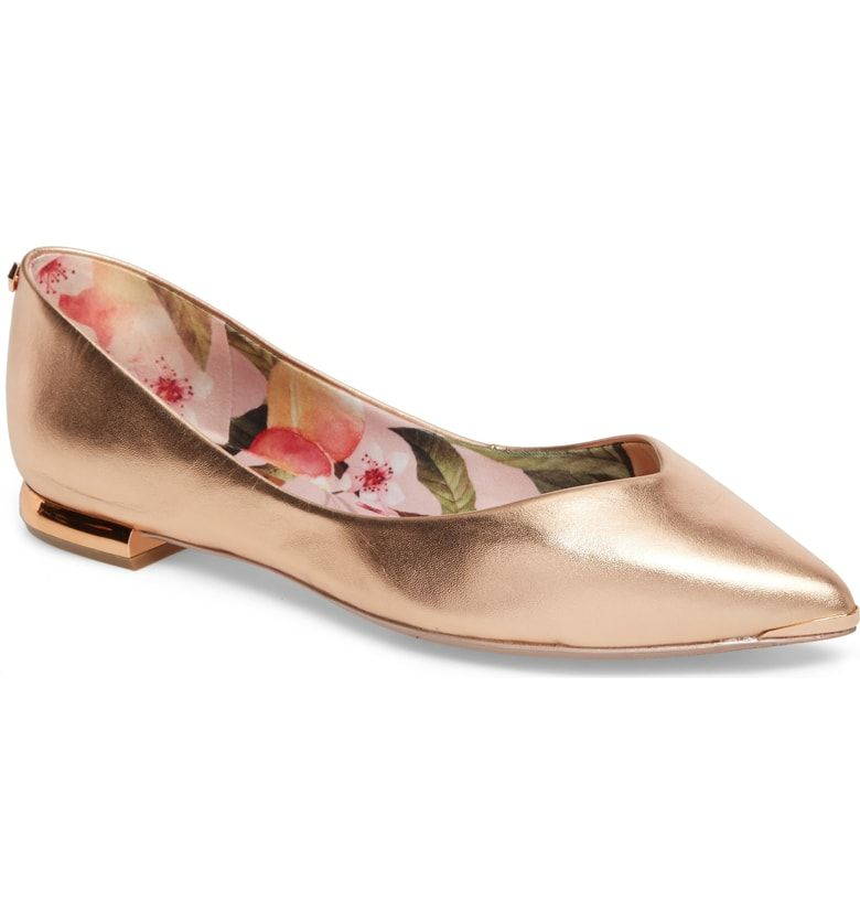 69fecf591 Free shipping and returns on Ted Baker London Grasce Flat (Women) at  Nordstrom.