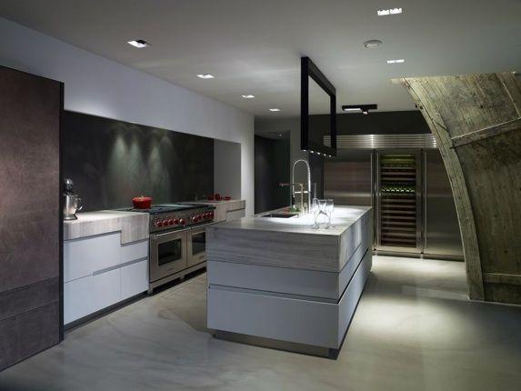 Keukenwand voor een van de keukens van culimaat high end kitchens