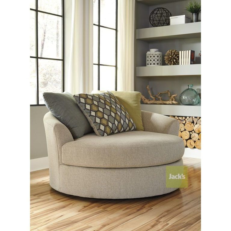 Best Casheral Oversized Swivel Accent Chair 1 Furniture 400 x 300