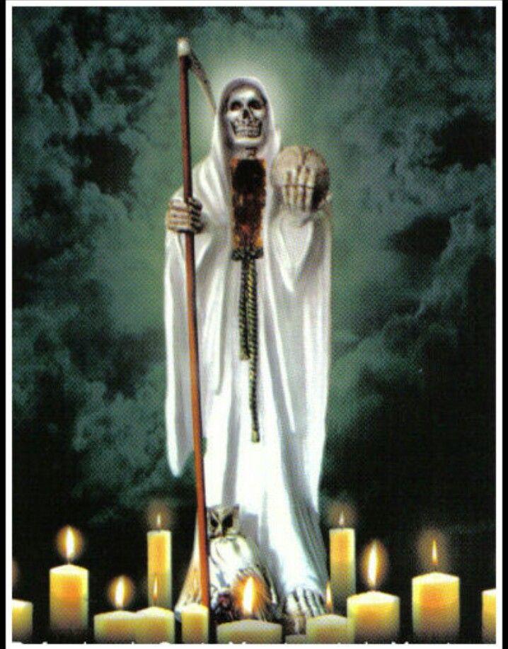 Foto De La Santa Muerte Blanca La Muerte Nina Santa Muerte La