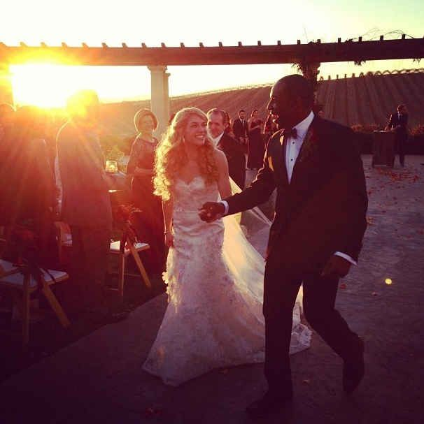 Their Winery Sunset Wedding Was Basically Perfect Sunset Wedding So You Think You Can Dance Wedding