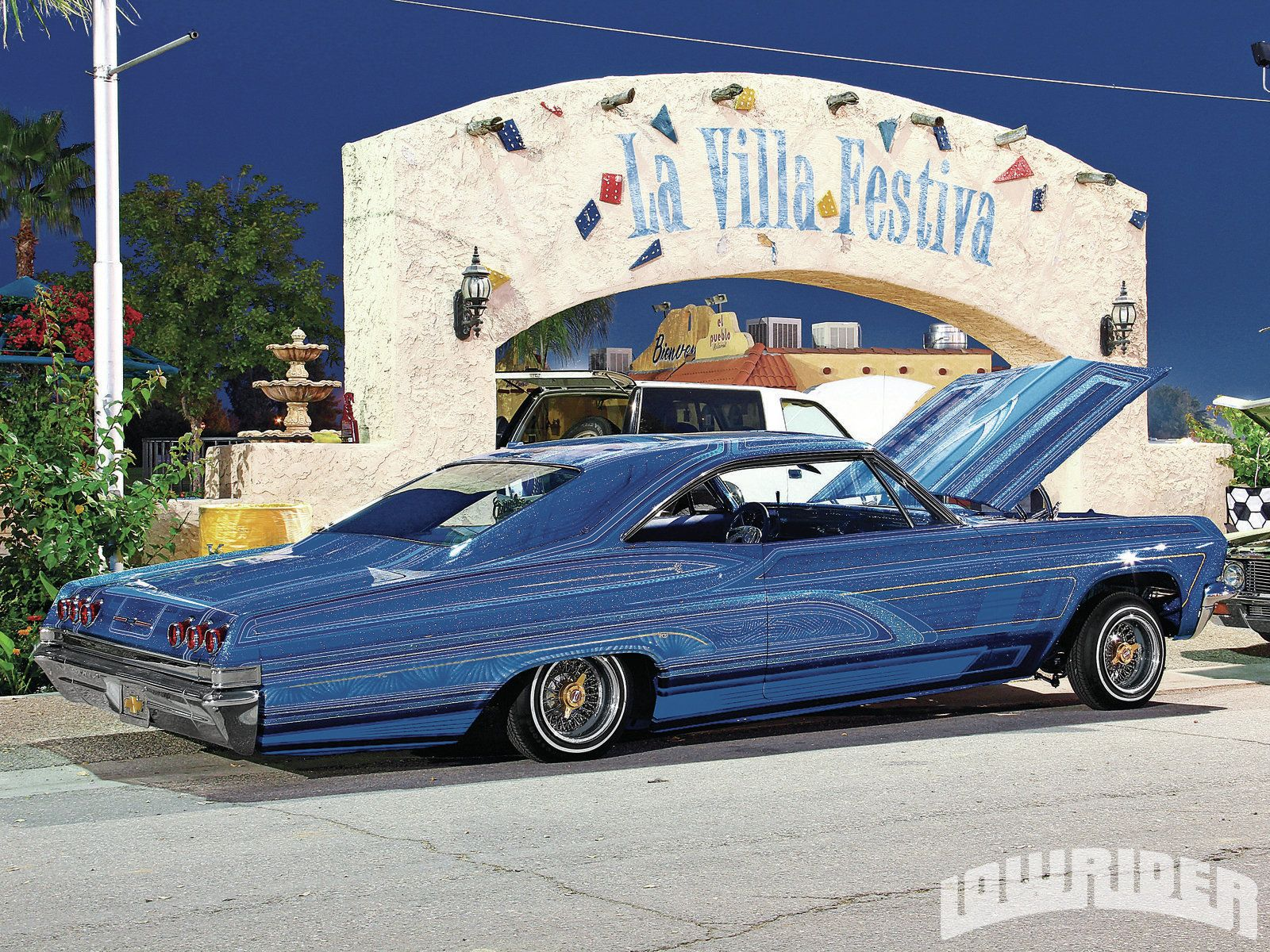 Lower Rider Cars Carnales Unidos Annual Benefit Car Show Custom