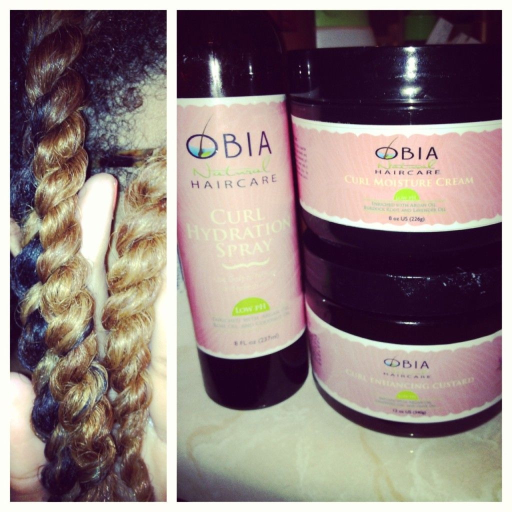 Obia Natural Hair Review By Lexi With The Curls