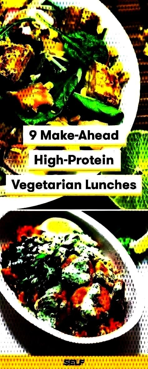Make-Ahead High-Protein Vegetarian Lunches, 9 MaMake-Ahead High-Protein Vegetarian Lunches, ... 9