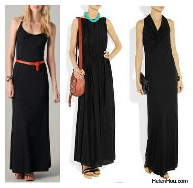 How to accessorize a maxi dress