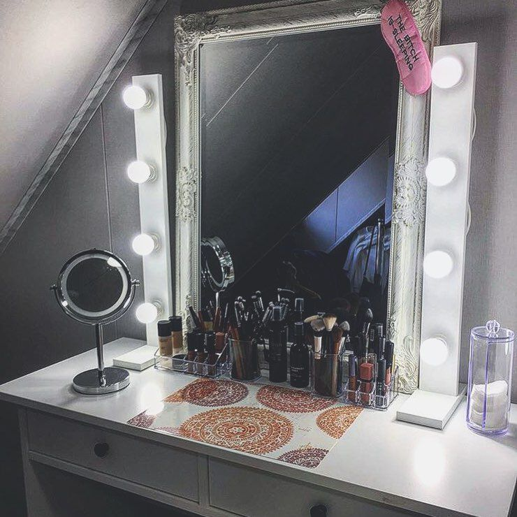 Lamps4makeup Beauty Makeup Lights For Hollywood Vanity Mirror Vanity Mirror With Lights Aroun Mirrors For Makeup Vanity Light Bulbs Vanity Table With Lights