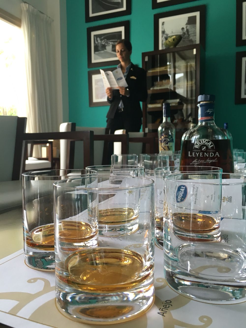 Rum tasting at our insignia bar Riva Bar  #bar #cocktails #luxuryhotel