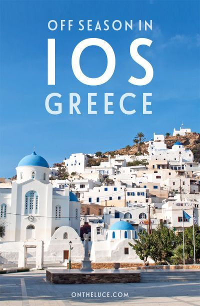 Off season on Ios, Greece – it's famous for its summer parties, but what happens once the crowds have gone? Exploring the island's peaceful side in autumn.